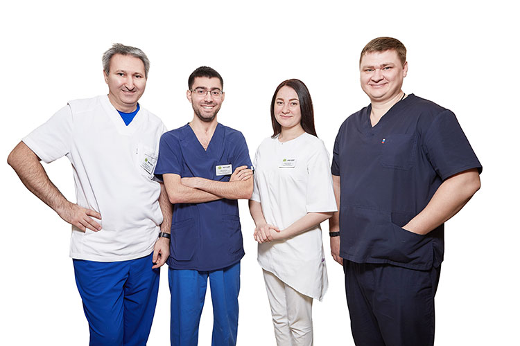 Cпециалисты стоматологической клиники Kiwi Dent